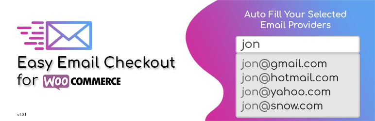 Easy Email Checkout Plugin